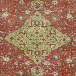 "Antique Turkish Hereke Rug Turkey ca.1900 20'9"" x 16'9"" (633 x 511 cm) FJ Hakimian Reference #10001"