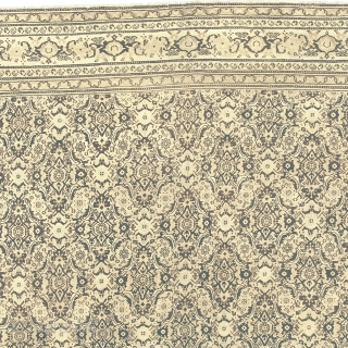 """Antique Indian Agra Rug India ca.1890 17'3"""" x 12'11"""" (526 x 394 cm) FJ Hakimian Reference #09092"""