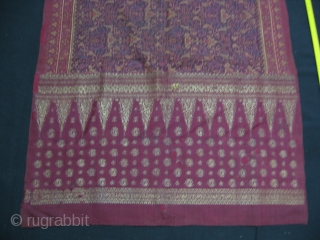 Antique Indonesian, Palembang Kain Limar. For more:http://indonesia-textile.blogspot.com