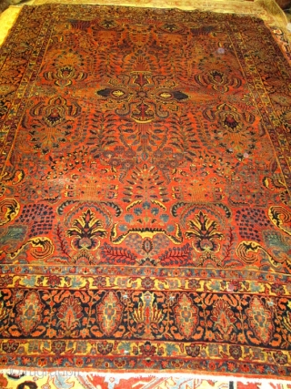 Awesome Antique mohajeran Sarouk.