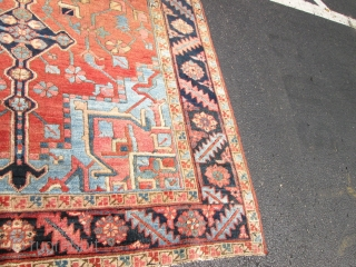 Antique Persian Heriz.