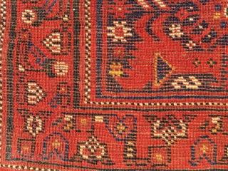 Very nice SW Persian Bird bag.