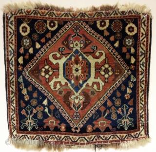 """South Persian bagface.  66 x 61 cm.  26 x 24"""""""