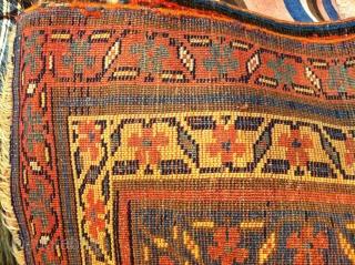 Shahsavan kurdish carpet size  363x137
