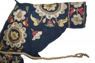 Women Blouse Backless(Choli) From Himachal Pradesh,Chamba India.C.1900.(DSL03250).