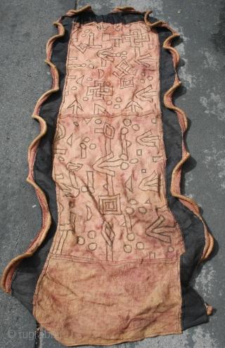 Congo raffia skirt (ntshak)  70cm by 170cm