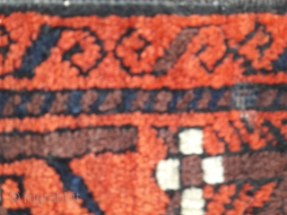 Good Belouch rug in great condition. 78in by 40in