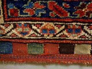 Kurd Bagface Size: 62x72cm Natural colors, made in circa 1910/20