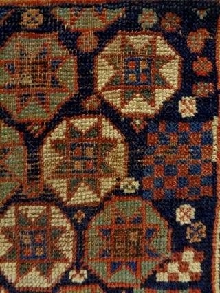 19th Century Kurd Bagface Size: 57x51cm Natural colors