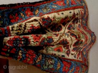 Kurd Bagface Size: 46x43cm Natural colors, made in circa 1910/20