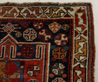 19th century Kamseh/Qasqhay Bagface
