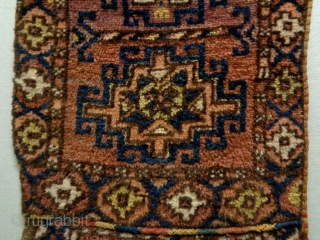 Kyrgyz Yastik Size: 64x116cm (2.1x3.9ft) Made in circa 1910/20