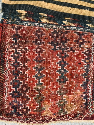 NW persian sumak.all good colors and in good condition,size 75X40cm