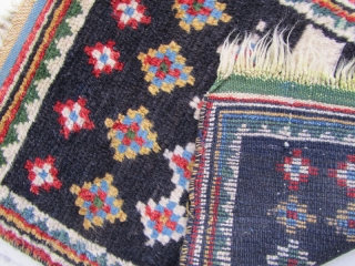 qashqai prayer gabbeh,Size:56x42 cm,not washed