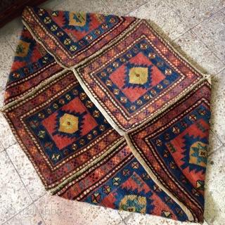 Shahsavan piled Mafrash.Size:100x50x50 cm