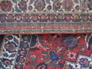 Bakhtiari carpet Size:285 x 207 cm in fine condition,needs a wash for a better looking from Pir balut village in chahar mahal.
