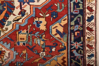 Shirvan Rug circa 1900 size 123x173 cm in excellent condition