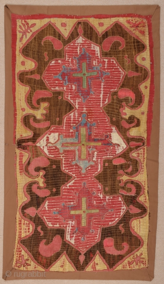18th Century Kaitag Embroidery size 60x108 cm
