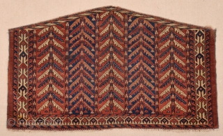 Early 19th Century Turkmen Yomud Asmalyk size 73x126 cm