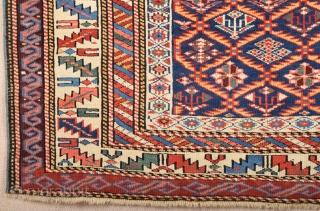 Shirvan Rug circa 1870 size 111x156 cm