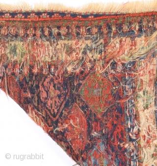 Mid 19th Century Shahsavan Sumak size 60x70 cm
