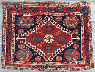 Late 19th Century Qashqai Bag size 53x68 cm