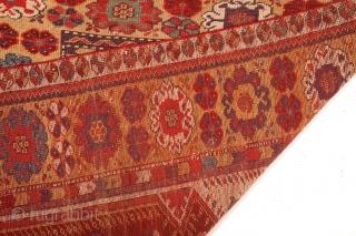 Mid 19th Century Lovely Melas Prayer Rug size 92x125 cm