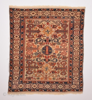 Late 19th Century Shirvan Perepedil Rug size 105x120 cm