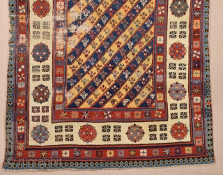 Caucasian Talish Rug circa 1870's size 110x200 cm