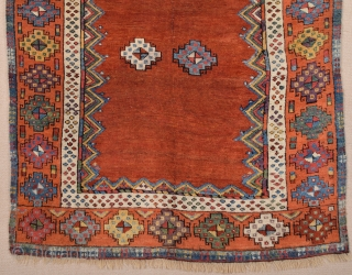 Early 19th Century Central Anatolian Konya Prayer Rug size 113x183 cm
