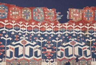 18th Century Anatolian Kilim size 162x360 cm