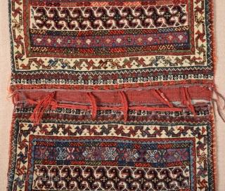 Persian Qashqai  Bag circa 1870 size 57x100 cm