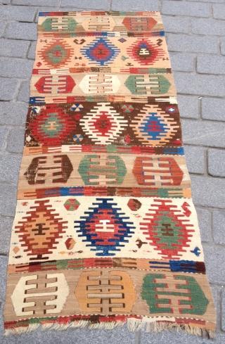 Sivas Kilim Fragment size 76x182 cm
