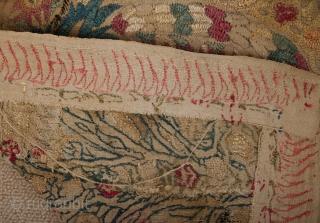 18th Century Greek Epirus Embroidery Fragment size 38x97 cm