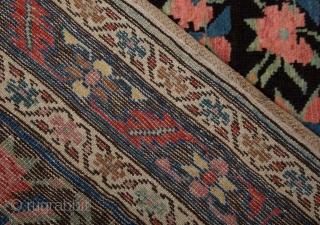 Late 19th Century Karabag Flower Carpet size 147x283 cm