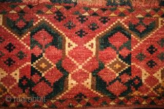ca.1880 Ersari Beshir Torba,,size:37x137cm  1.2x4.5 ft