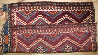 ca.1900 A Pair Weramin bagface,,wonderful Natural colours,,size:70x60 & 65x60 cm  2.4x2 & 2.2x2 ft