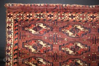 ca.1870 16 Gul Yomut Chuval,,size:70x93 cm  2.4x3.1 ft