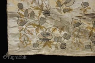 Wonderful European Silk textile ,,size:90x98 cm  2.11x3.2 ft