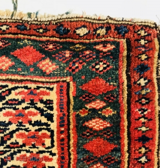kurdish bag,1880 circa all good colors.size92x60cm