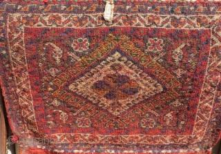Fine Qashqai bag-circa 1900.size43x53