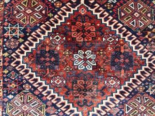 pair Qashqai bagface.circa 1870 size 45x55cm