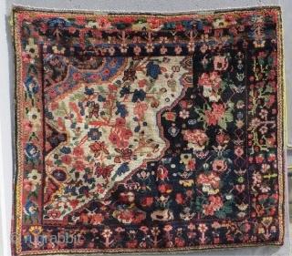 Bakhtiyari Wagireh 1880 circa,size 117x104cm