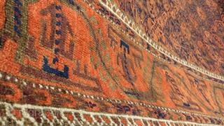Baluch rug no repair,original edges,size 180x108