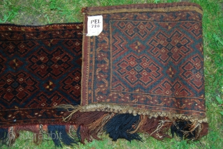 Old Ersari trapping in very good condition with full pile, 40 x 165 cm