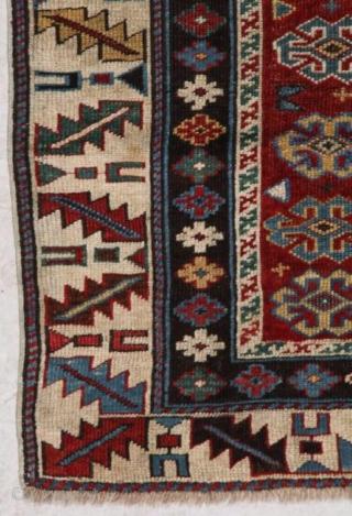 Antique caucasian shirvan circa 1900, size 168x104cm