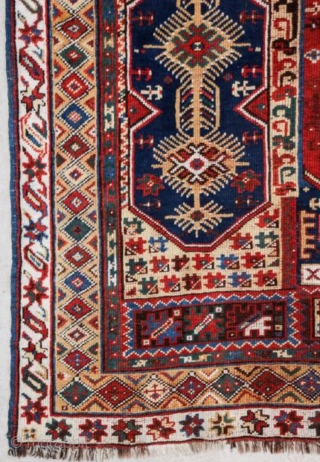 Antique west anatolian Makri rug very rare, circa 1900, size 203x142