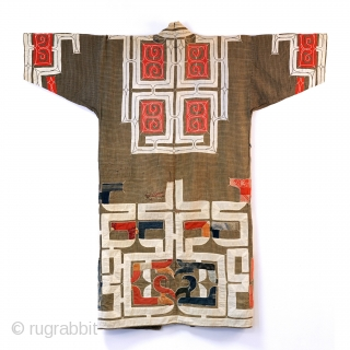 Offered here is an authentic Ainu Ruwnpe kimono from my personal collection.