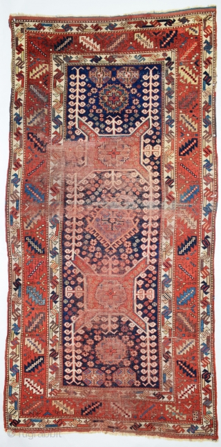 Kurdish-Karabagh Rug (Persian or Caucasian). The Karabagh designation is a general one relating to a region not a village or specific ethnic group. Kurds, Armenians and Azerbaijani Turks all produced 'Karabagh' rugs  ...