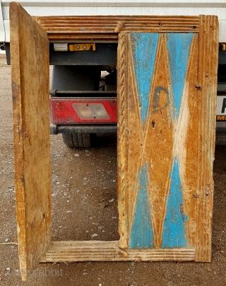 Middle anatolia , cappadocia !  Old cabin door .